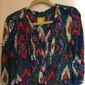 Multicolored Anthropologie Top
